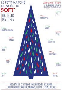 Le Soft - Ivry sur Seine - Peti tmarché de Noel